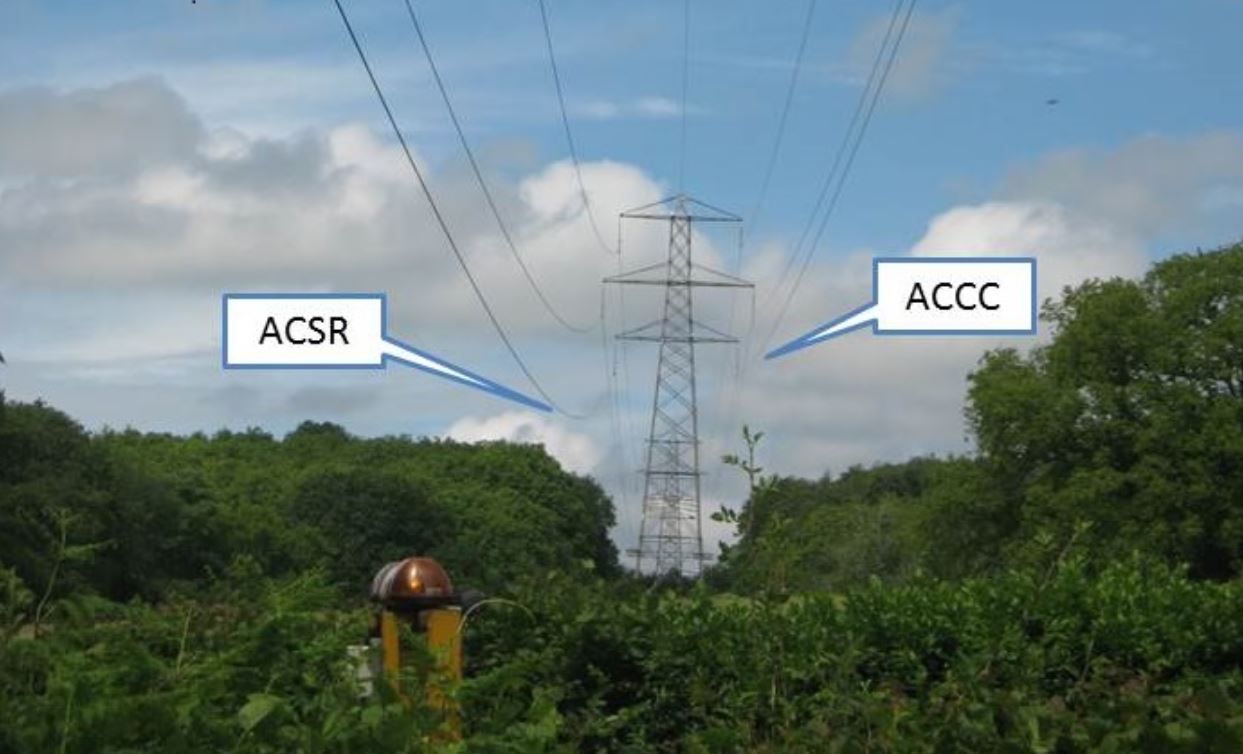 ACCC Conductors may reduce the need for power outages.ACCC vs. ACSR 1243x754px