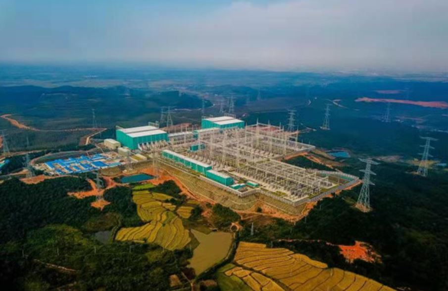 ACCC® Intallation in China on Milestone 1100 kV DC Project in China