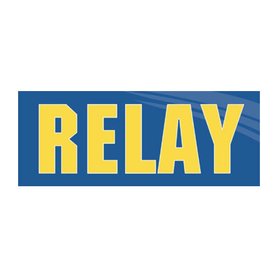 Relay Magazine logo
